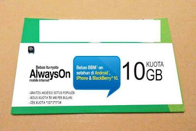 Cara Mendapatkan Kuota Gratis Tri AON 25 GB Terbaru 2018
