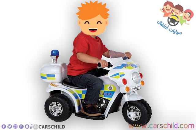 دراجة اطفال شرطة