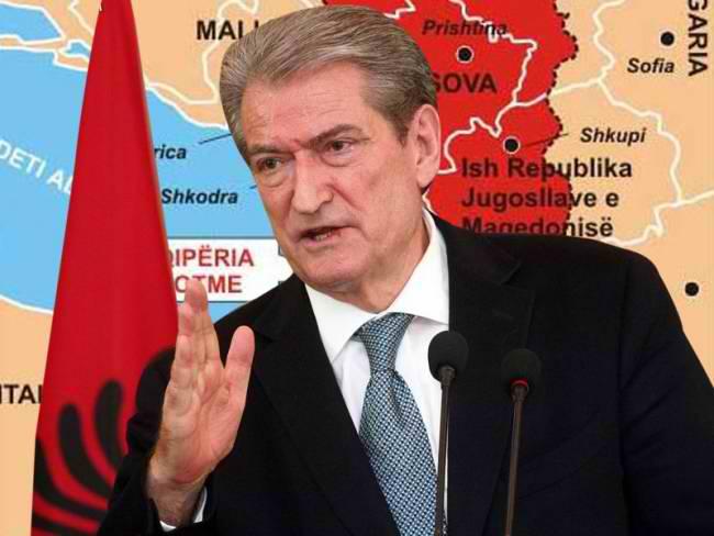 Ο ρωθυπουργός της Αλβανίας Σαλί Μπερίσα