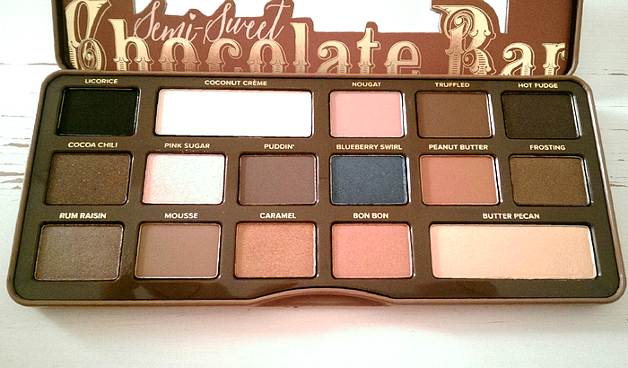 Champagne Daydream 049 Too Faced Semi Sweet Chocolate