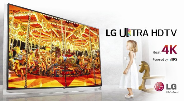 LG Ultra HD TV lineup