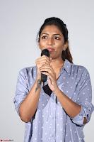 Poojita Super Cute Smile in Blue Top black Trousers at Darsakudu press meet ~ Celebrities Galleries 010.JPG