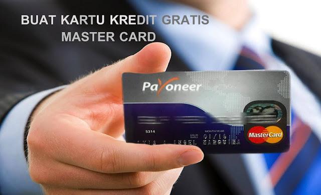 Cara Bikin Kartu Kredit Mastercard Gratis Terbaru