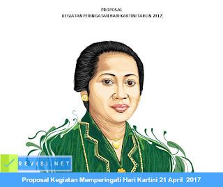 Proposal Kegiatan Memperingati Hari Kartini 21 April 2017