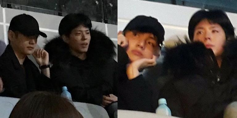 Bắt gặp Park Bo Gum hẹn hò với trai đẹp tại concert Big Bang