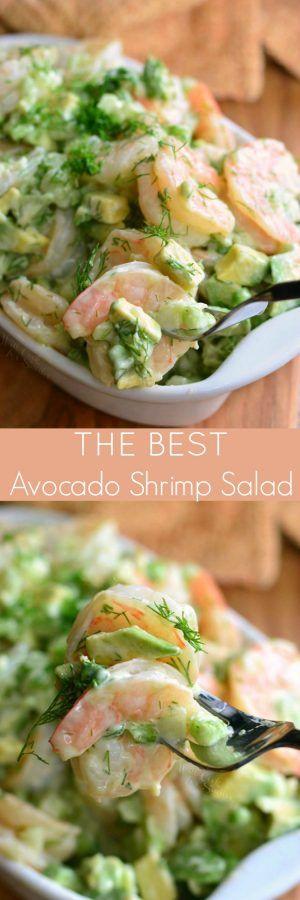 The BEST Avocado Shrimp Salad