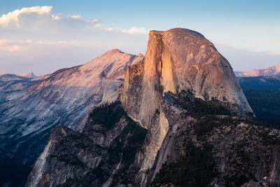 How did the Half Dome and the rest of Yosemite Valley get made? It was a series of cataclysmic processes during the Genesis Flood.