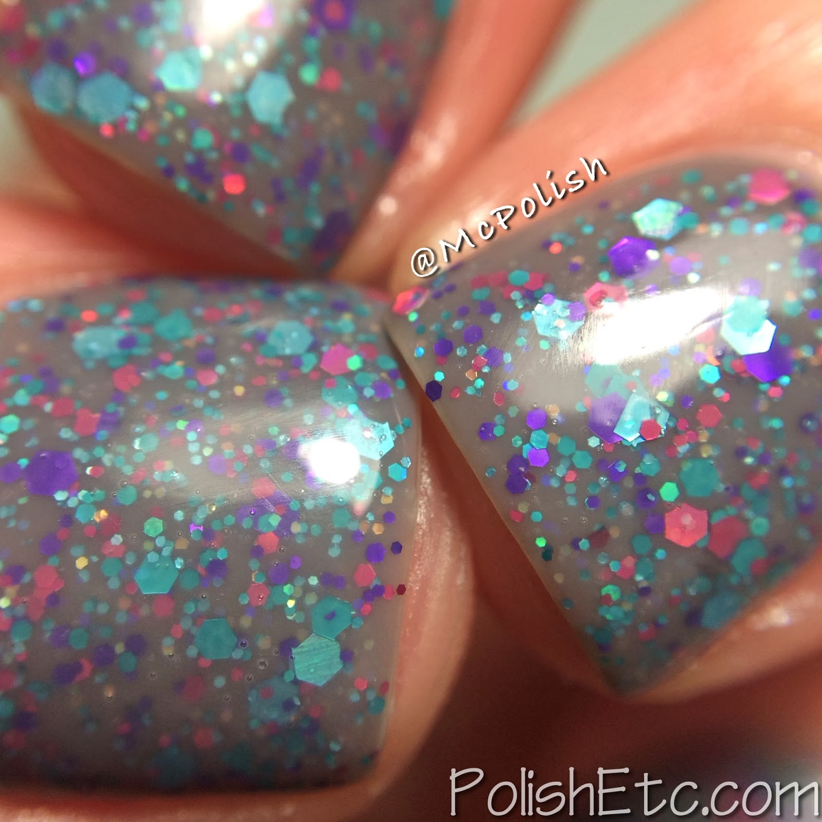 Loaded Lacquer Jiggles - Toasted Marshmallow macro