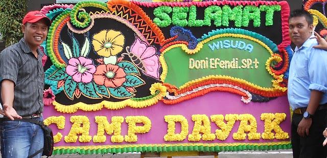 Laskar Camp Dayak Comunity