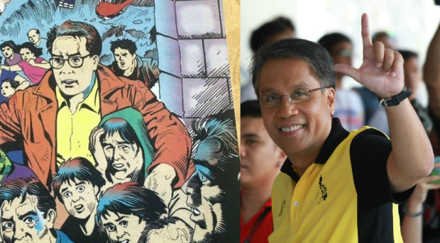 Caritas labels Roxas' comic book as 'disgraceful and unacceptable propaganda'
