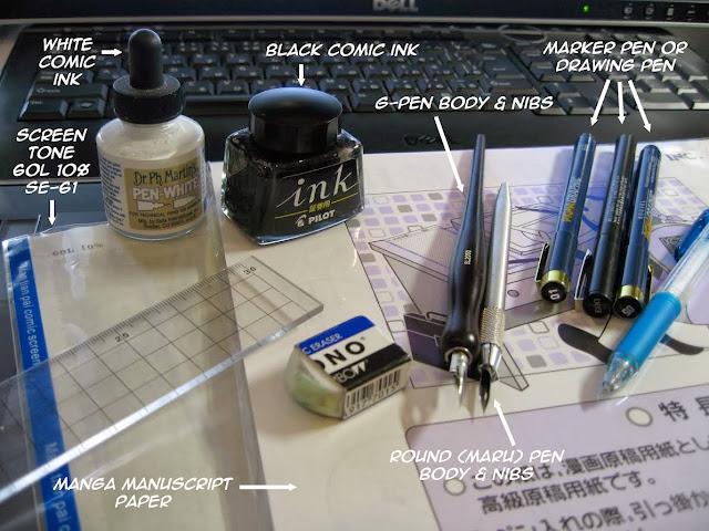 Manga tools