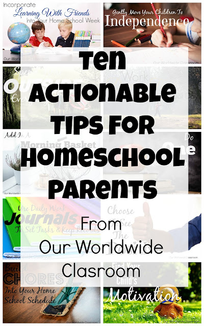 A Week Of Tips For Homeschool Parents