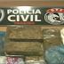 Transsexual e adolescente são detidos com 5 kg de drogas na Grande JP