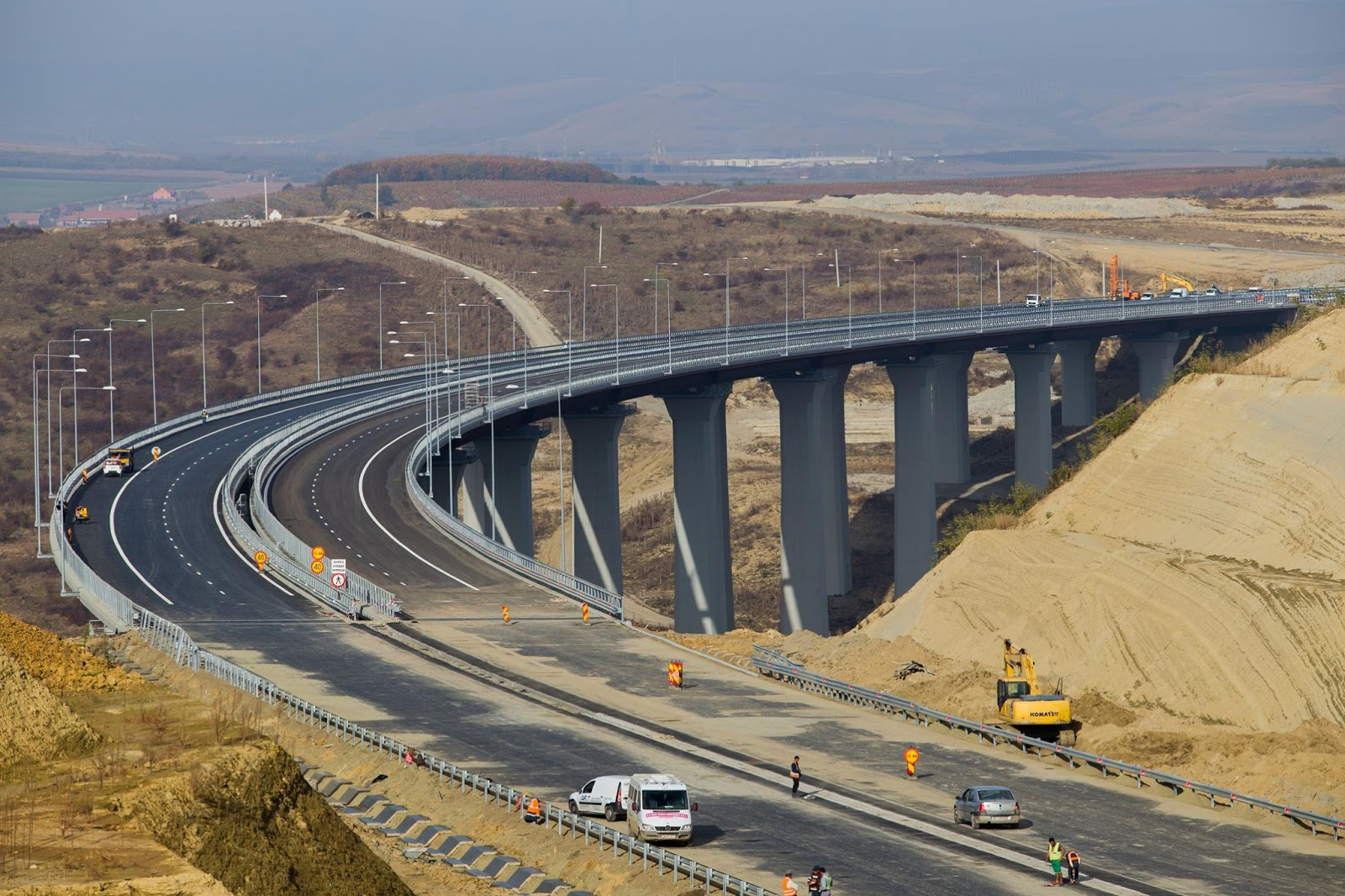 Románia, autópálya, infrastruktúra, közlekedés, CNADNR