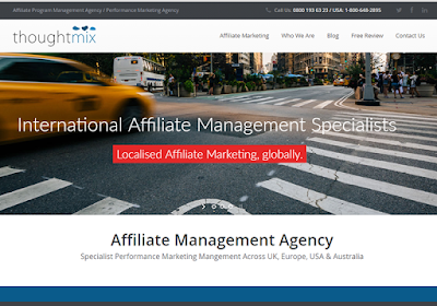 ThoughtMix offers specialist affiliate management service that drives growth