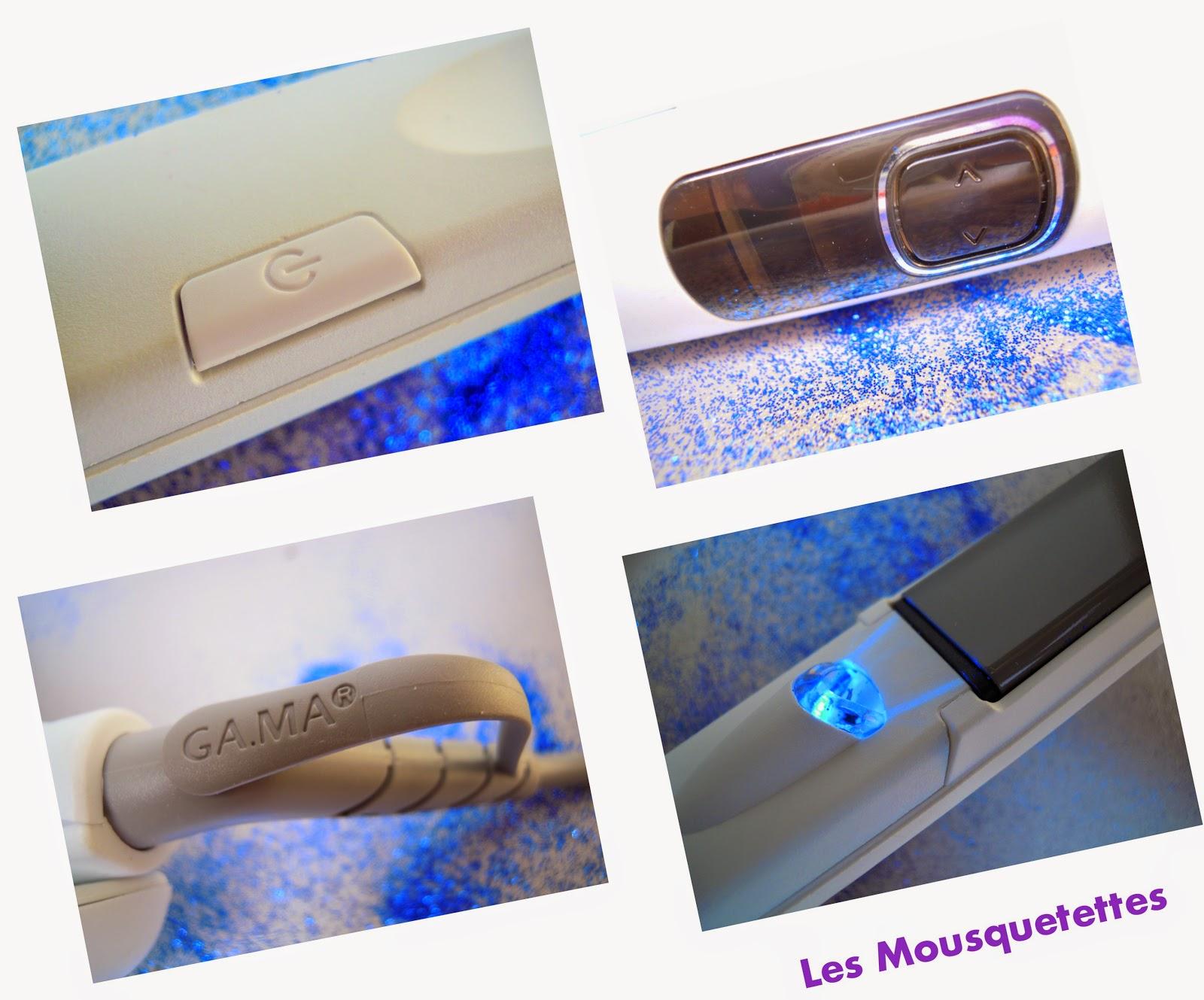 Lisseur Exelia ion Titanium GA.MA - Les Mousquetettes©