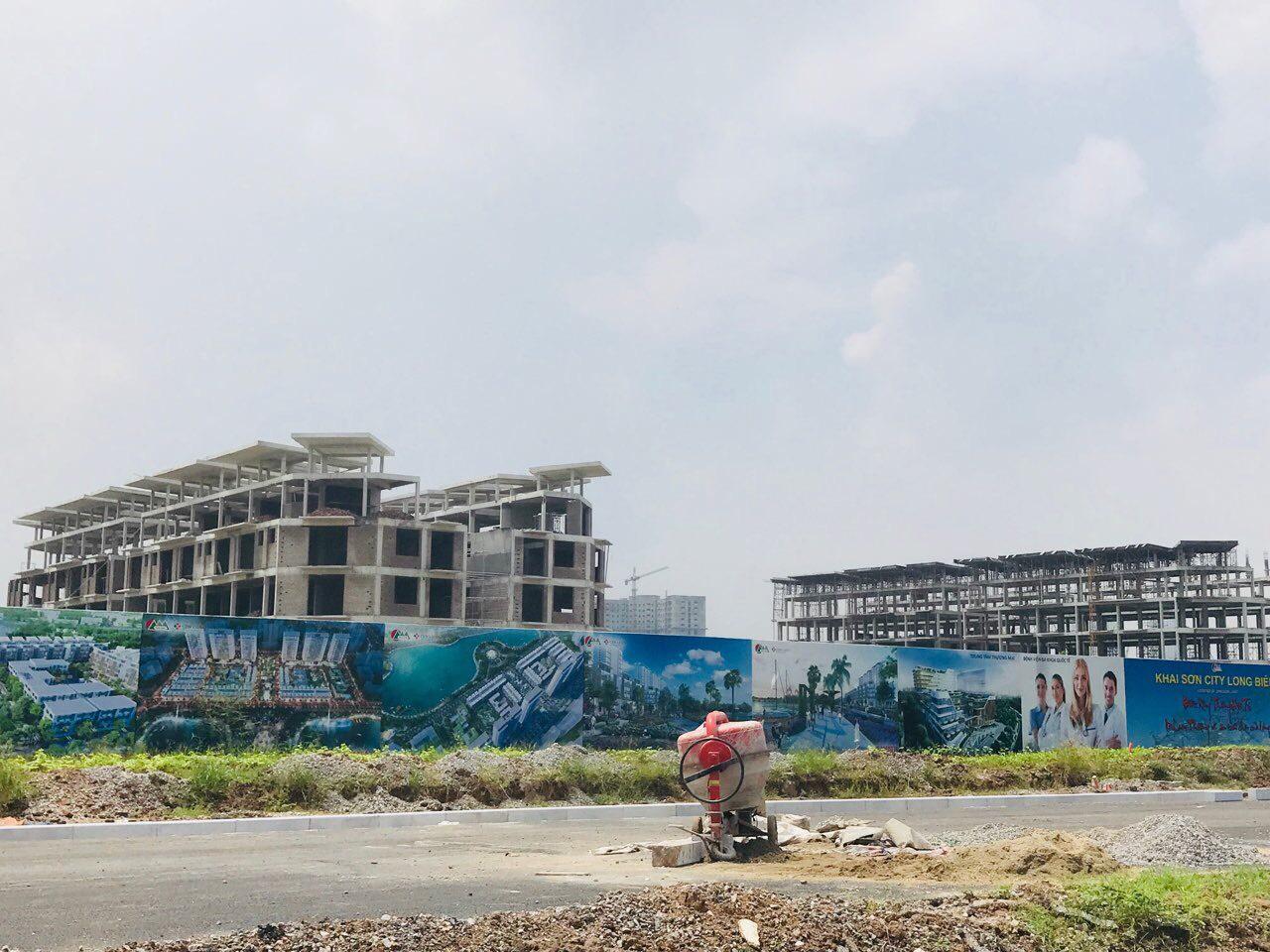 Tiến độ Khai Sơn City Long Biên
