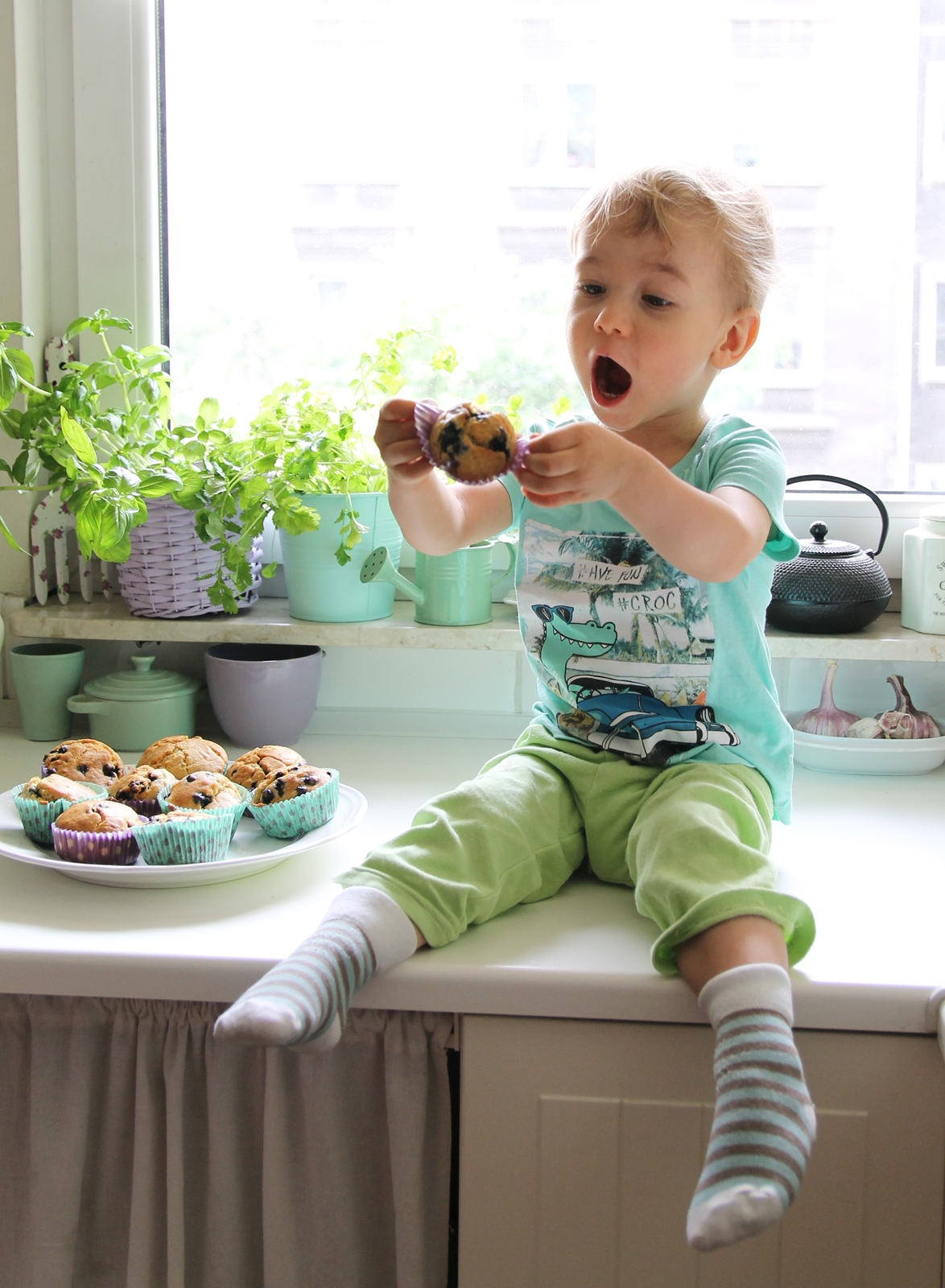 przepis na muffinki bez cukru