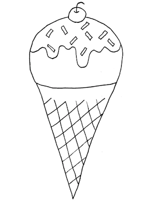 Gambar Mewarnai Ice Cream - 9