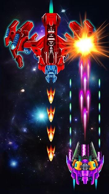 Galaxy Attack: Alien Shooter MOD DINHEIRO INFINITO 30.7
