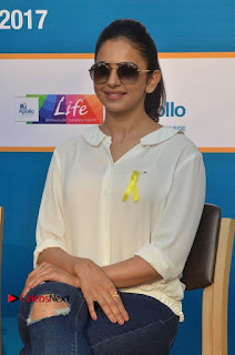 Actress Rakul Preet Singh at Endometriosis Awareness Walk at Apollo Cradle  0064.jpg
