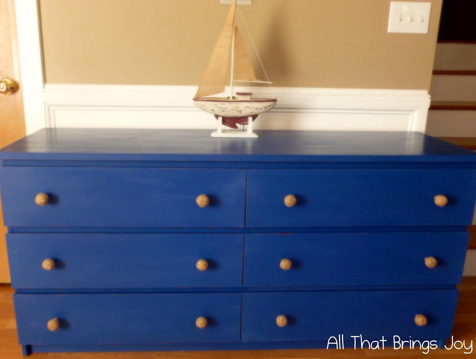 Painting Laminate Dresser