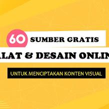 60 Sumber Desain Gratis untuk Merancangan Konten Visual