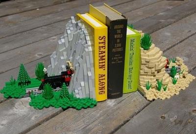 14. Lego Book Ends