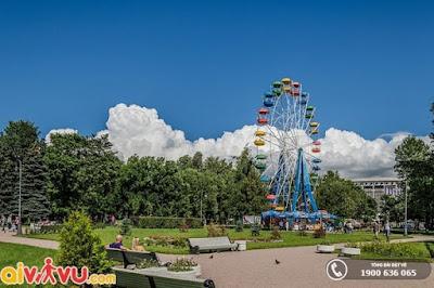 Công viên chiến thắng Moskva – lá phổi xanh của thành phố Saint Peterburg.