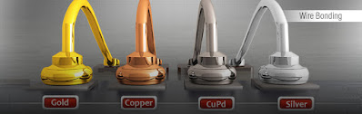 gold, cuper, silver and aluminium