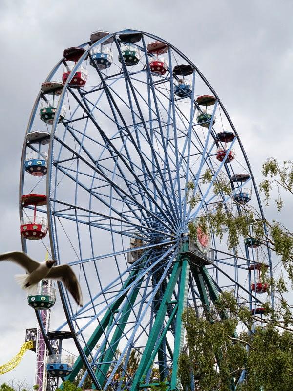 Helsinkipyörä merry-go-round
