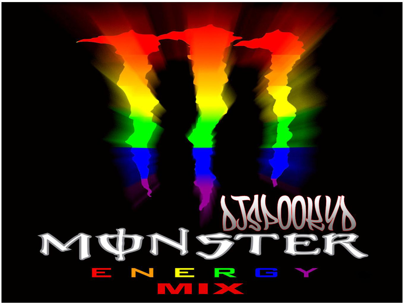 monster logo energy