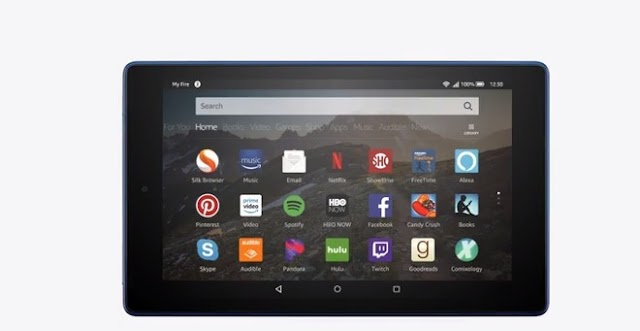 Amazon Fire HD 8 tablet upgrades the front facing camera