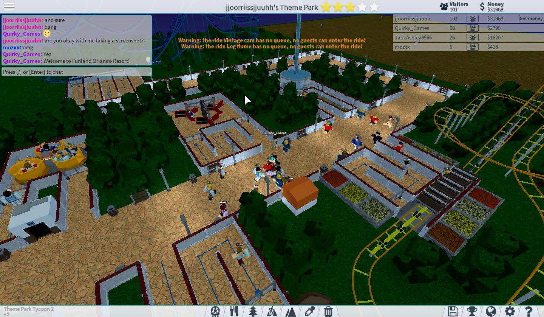 New Theme Park Tycoon! - Roblox Gamer Club