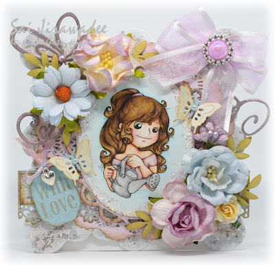 Crafty Sentiments Designs Florish