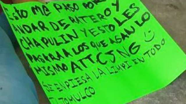 """""""En mero Jalisco le disputan la plaza al CJNG"""" en Guadalajara dejaron a 8 desmembrados"""