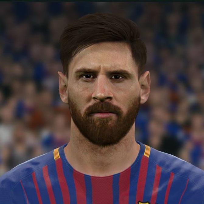 PES 2017 Faces Lionel Messi by Sameh Momen ~ SoccerFandom
