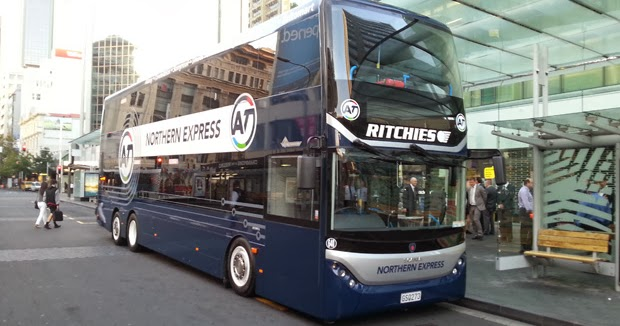 Nz In Tranzit Bus Ridership Going Up And Up Double Deckers In Wellington And Auckland