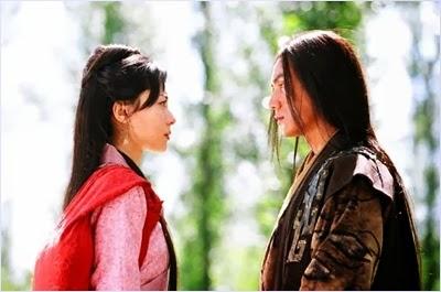 ไซซีกับฟ่านหลีในภาพยนตร์มหาศึกเจ้าแผ่นดิน