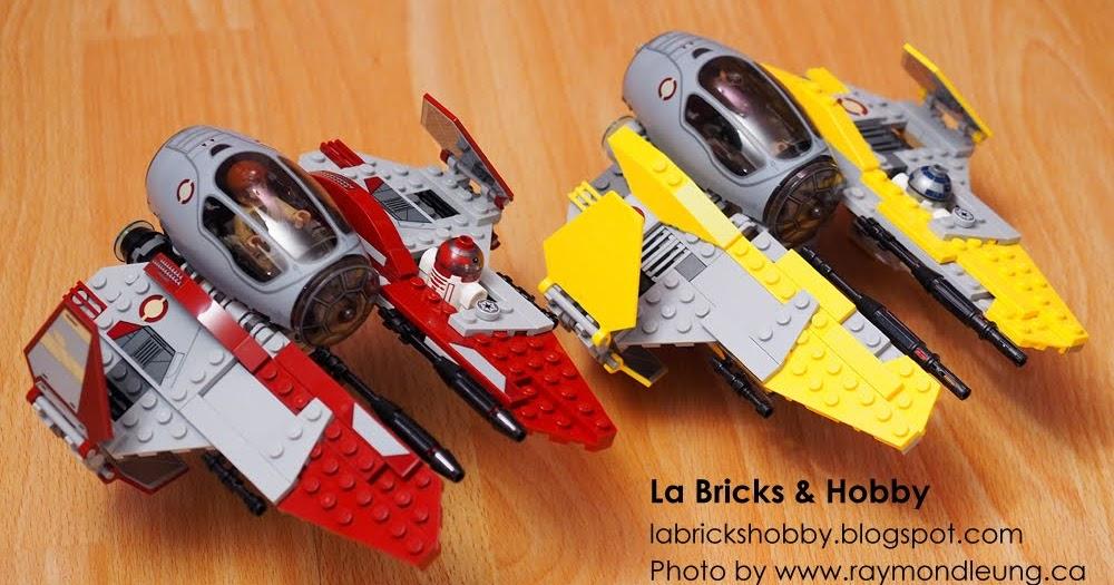 LEGO Star Wars 75038 Anakin/'s Jed Interceptor /& 75135 Obi-Wan/'s Jedi Interceptor