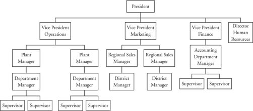 MANAGEMENT PORTAL: Orgamisational structure