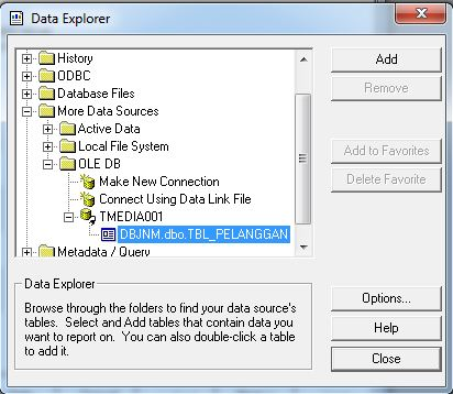 Cara Membuat Laporan Crystal Report Database SQL Server
