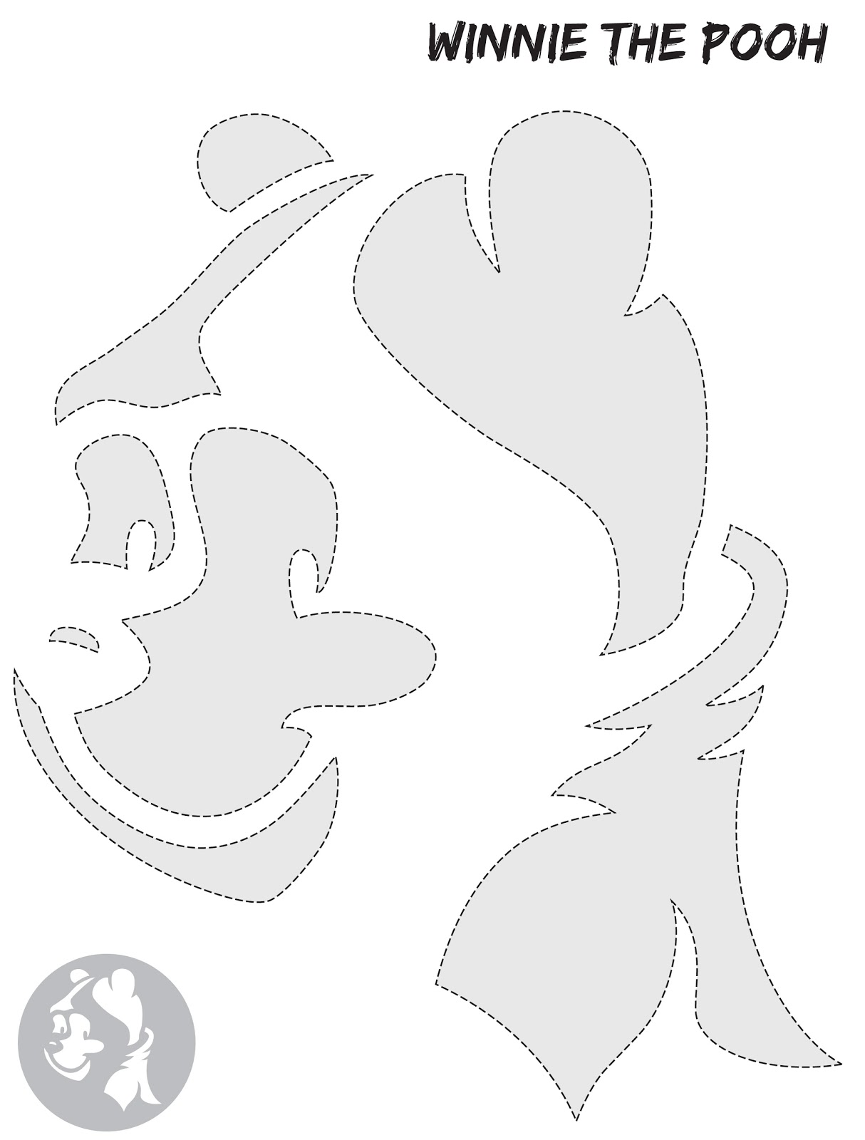 winnie the pooh pumpkin carving templates single mummy one in a million free pumpkin stencils
