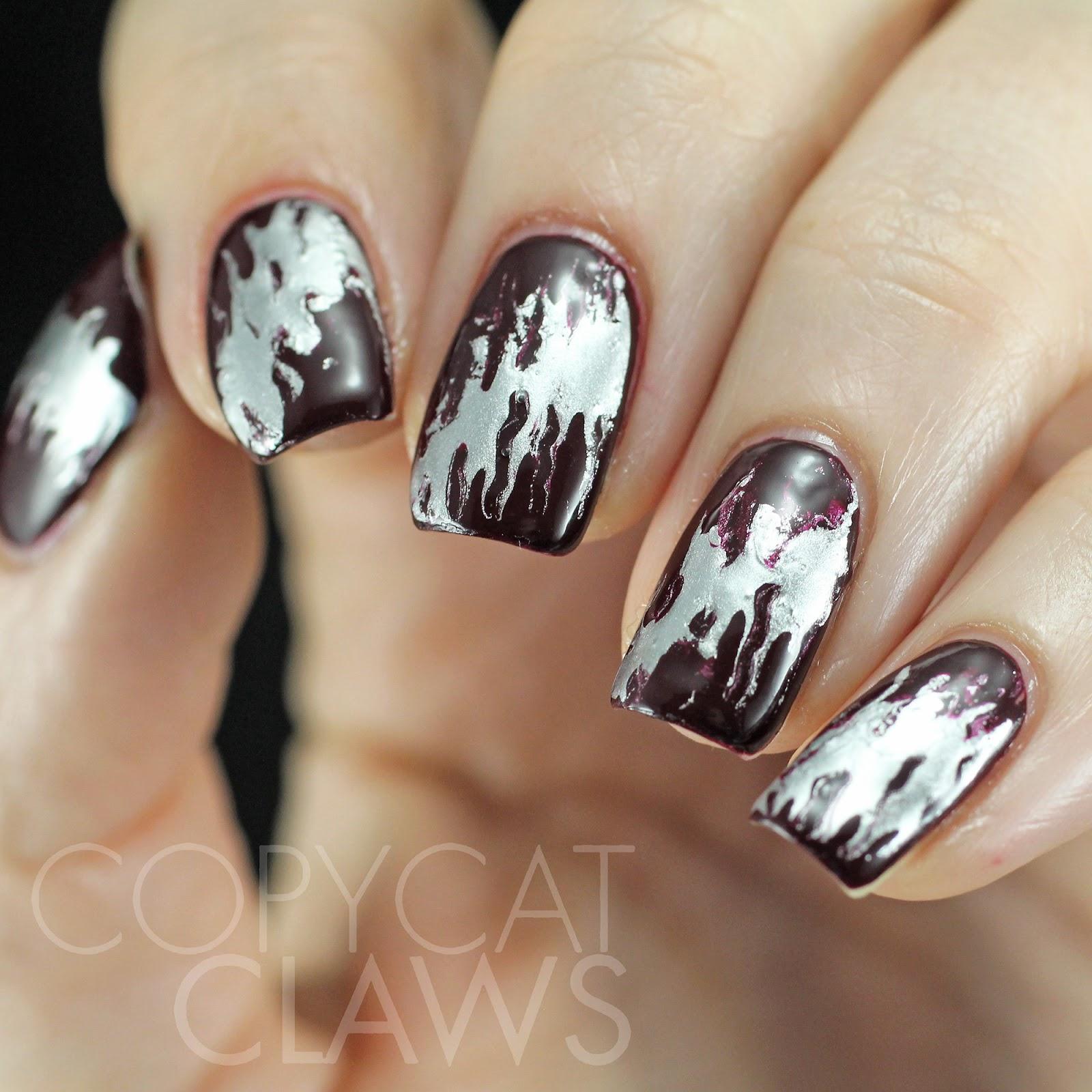 Copycat Claws Needle Drag Nail Art