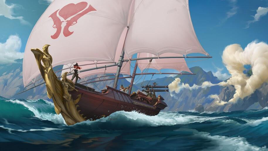 The Syren, Legends of Runeterra, 4K, #3.1841