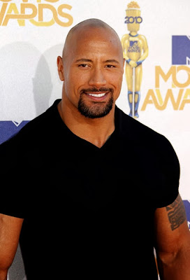 Dwayne Johnson la MTV Movie Awards