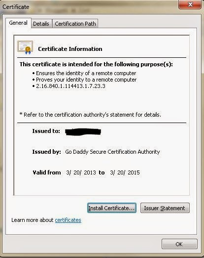 Lets start to learn: Creating chained certificate from an unchained