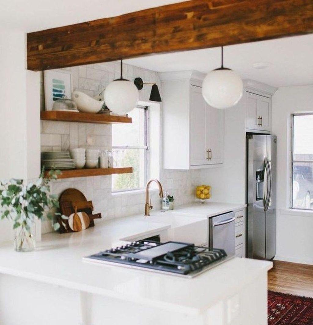 Elegant Small Kitchen Design Decoration
