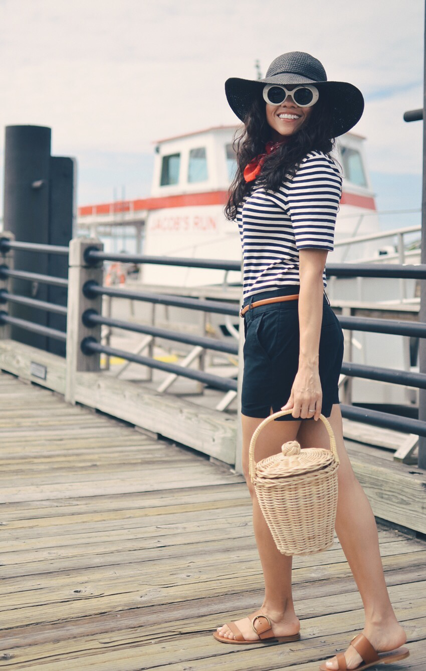 Nautical Fashion Retro Style