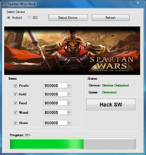 spartan wars cheats & hack
